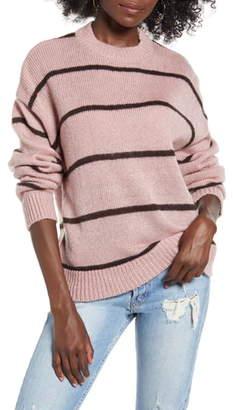 WAYF Lonny Stripe Boyfriend Sweater