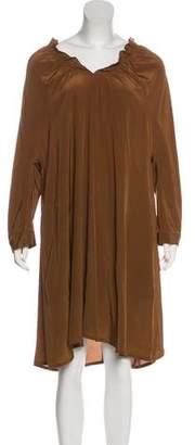Aspesi Silk Long Sleeve Dress w/ Tags