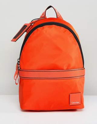 Calvin Klein Bright Nylon Backpack