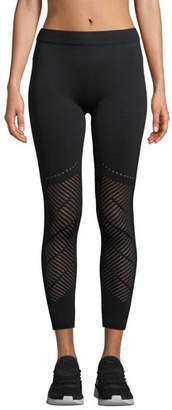 Laurèl Nylora Warp Mesh Performance Leggings