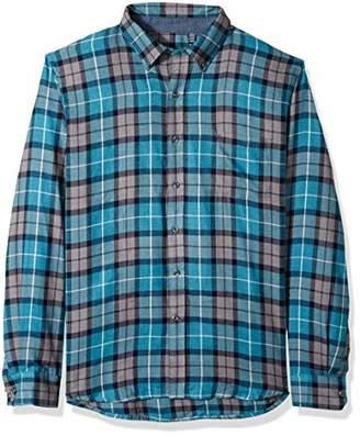 Izod Men's Flannel Long Sleeve Shirt
