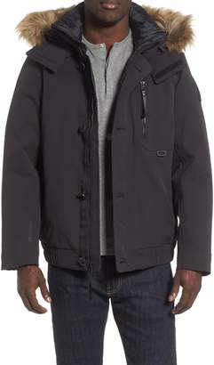 Helly Hansen Bardu Waterproof Bomber Jacket with Detachable Hood and Faux Fur Trim
