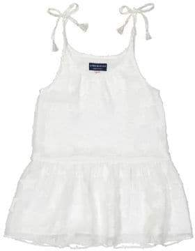 Andy & Evan Girl's Star Gathered Flowy Dress