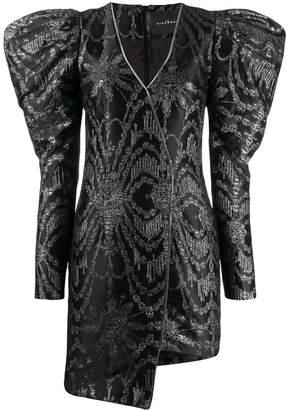 John Richmond jacquard asymmetric dress
