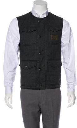 Dolce & Gabbana Virgin Wool-Blend Cargo Vest