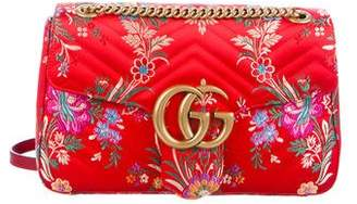 Gucci 2017 Jacquard Medium Marmont Bag