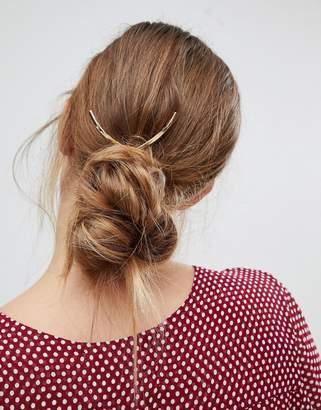 Orelia Large V Hair Pin