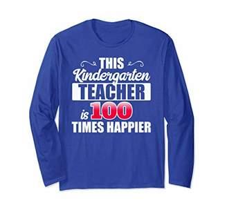 DAY Birger et Mikkelsen 100 Days of School 2019 Long Sleeve Kindergarten Teacher