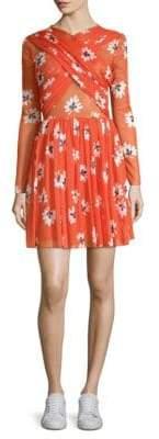 Ganni Tilden Floral Mini Dress