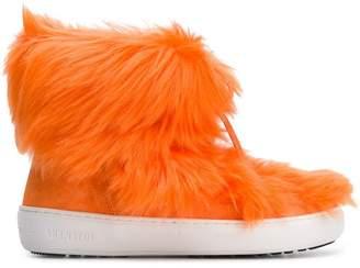 Moon Boot Pulse Mid Premium Pop faux fur sneakers