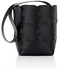 Paco Rabanne Women's 16#01 Hobo Medium Bucket Bag - Black