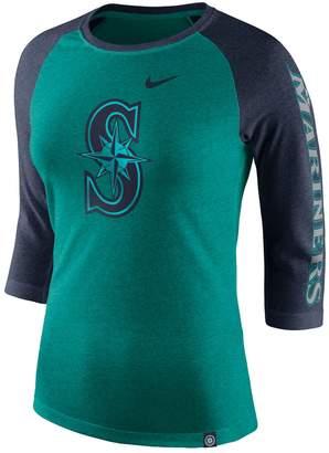 Nike Women's Seattle Mariners Triblend Tee