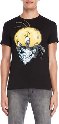 X-Ray X Ray Bird Skull Graphic Tee