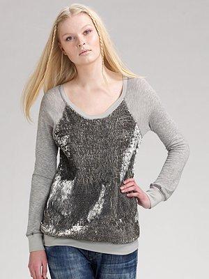 Elizabeth and James Sequined Sweatshirt