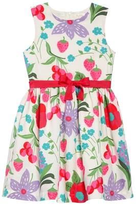 Boden Mini Vintage Linen & Cotton Dress