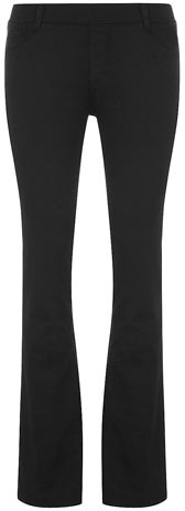 Dorothy Perkins Black ultra soft bootcut jegging