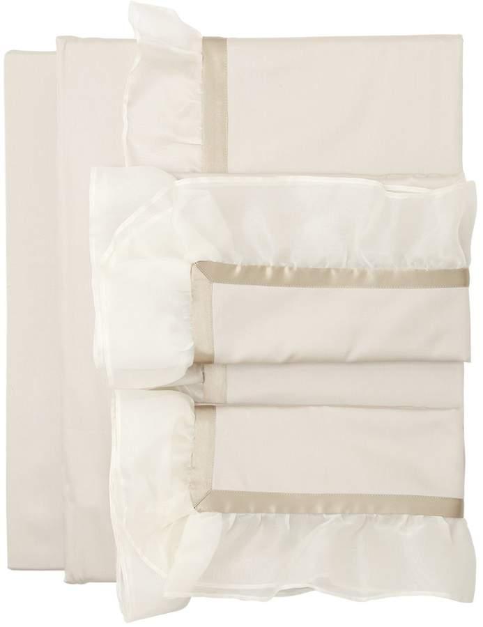 Bettdeckenset Aus Baumwolle Und Seide