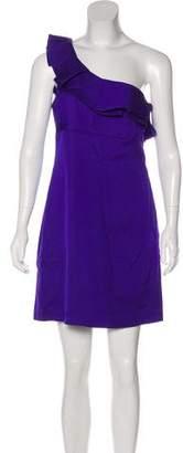 Trina Turk One-Shoulder Mini Dress