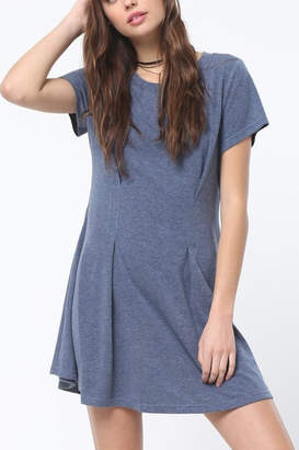 Very J Tucked Front Dress