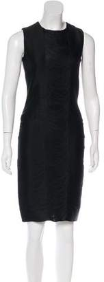 Ralph Lauren Purple Label Embellished Sheath Dress