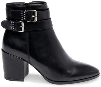 Steve Madden Stevemadden PEARLE BLACK LEATHER
