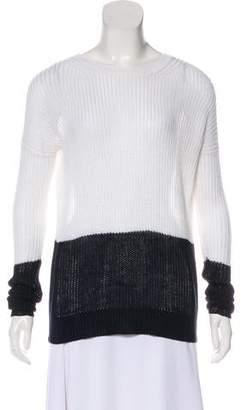 Vince Long Sleeve Linen Sweater
