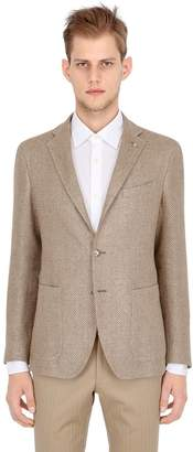 Tagliatore Cotton Linen Twill Jacket