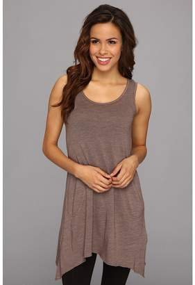 Allen Allen Scoop Neck Angled Tunic Women's Sleeveless