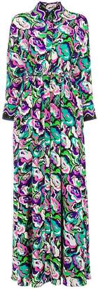 Emilio Pucci shortsleeved long shirt dress