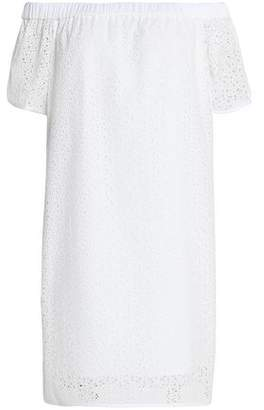 Rag & Bone Flavia Off-The-Shoulder Broderie Anglaise Cotton Dress