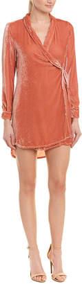 Young Fabulous & Broke Velvet Silk-Blend Dress