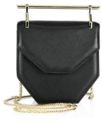 M2Malletier Mini Amor Fati Leather Shoulder Bag