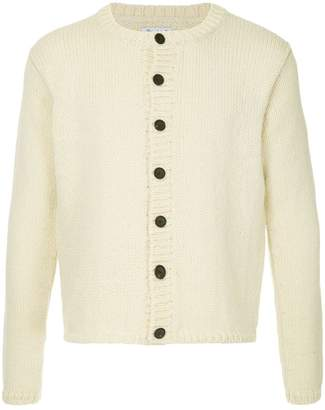 Bergfabel cropped chunky knit cardigan