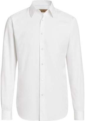 Burberry slim fit poplin shirt
