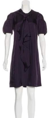 Miu Miu Tie Knee-Length Dress