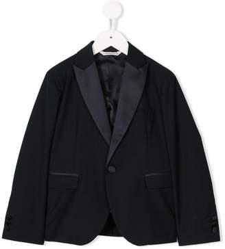 Manuel Ritz Kids tuxedo blazer