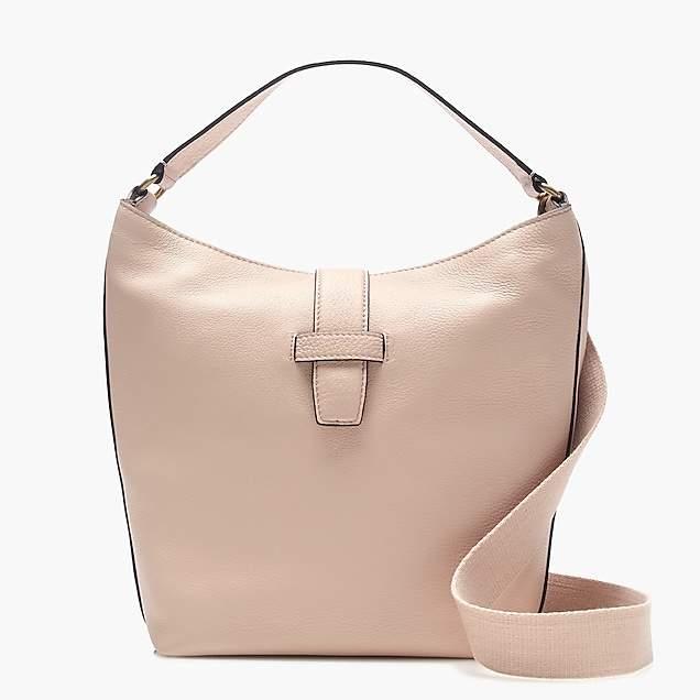 Signet hobo bag in Italian leather