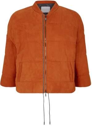 Fabiana Filippi Suede Puffer Jacket