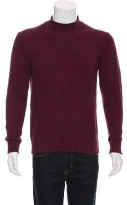 Jack Spade Mock-Neck Rib Knit Sweater