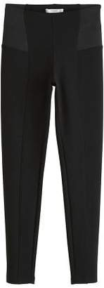MANGO Elastic panels leggings