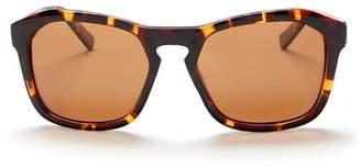 Joe's Jeans Polarized Geometric 57mm Sunglasses