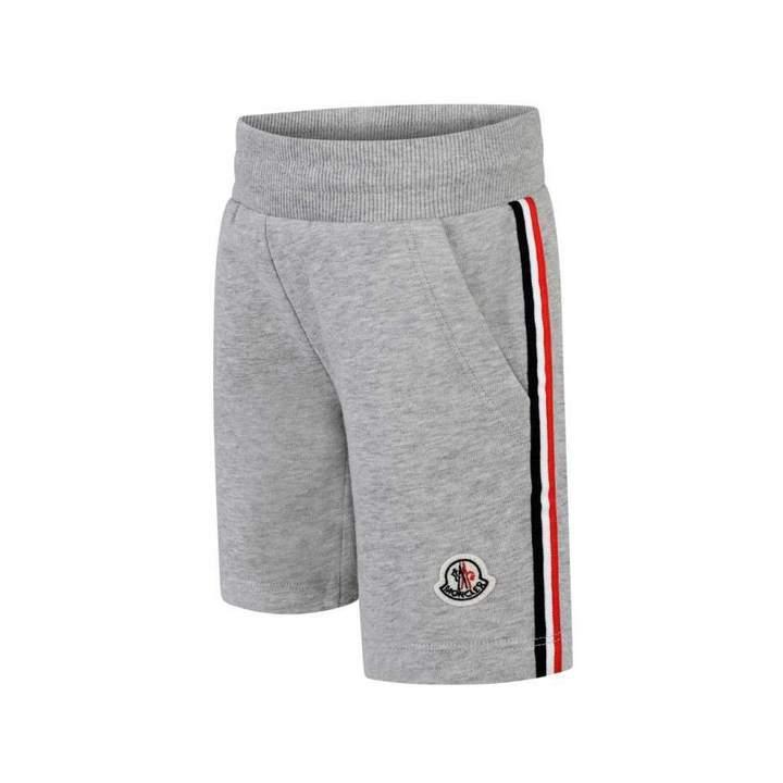 MonclerBoys Grey Melange Shorts
