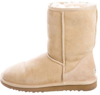 UGG Australia Classic Short Ankle Boots $130 thestylecure.com