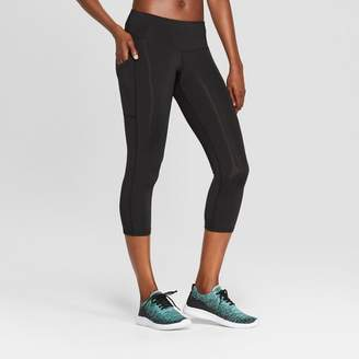 Champion Women's Training Mid-Rise Capri Leggings 20 Black