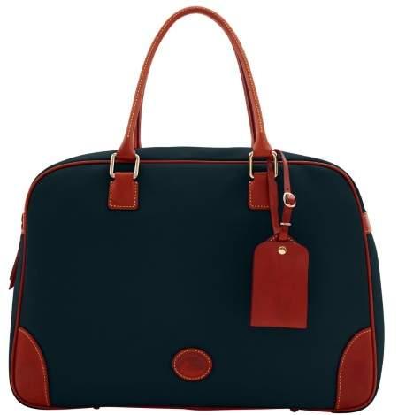 Dooney & Bourke Nylon Bowler Duffle Bag - BLACK - STYLE