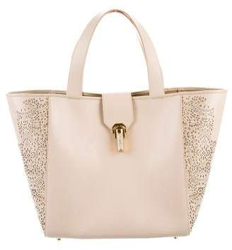 Oscar de la Renta Sloane Leather Tote