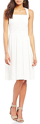 Cremieux Jessie Chiffon Cross Back Dress $129 thestylecure.com