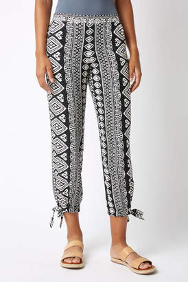 Juniper Blu Tribal Slit Jogger
