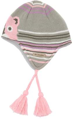 Columbia Koala & Stripes Knit Beanie Hat