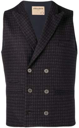 Al Duca D'Aosta 1902 houndstooth tailored vest